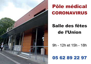 Un pole médical Coronavirus a l Union