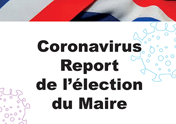 report de l election du futur maire